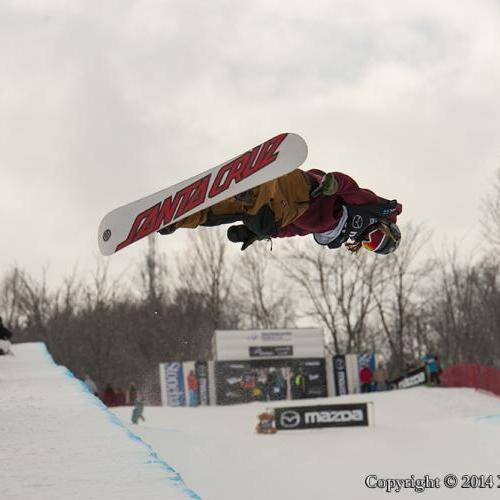 Stoneham Quebec halfpipe World Cup