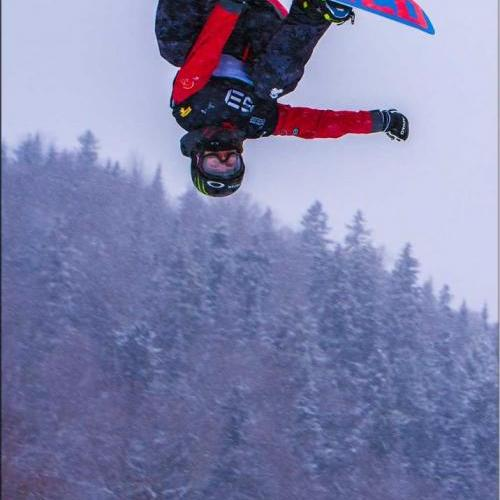 2014 FIS Stoneham Quebec Snowboard Slopestyle world cup